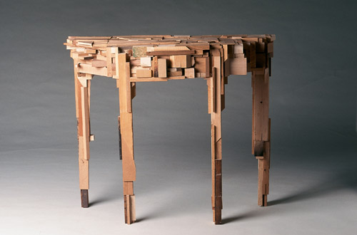 A Table Made of Wood, Gord Peteran